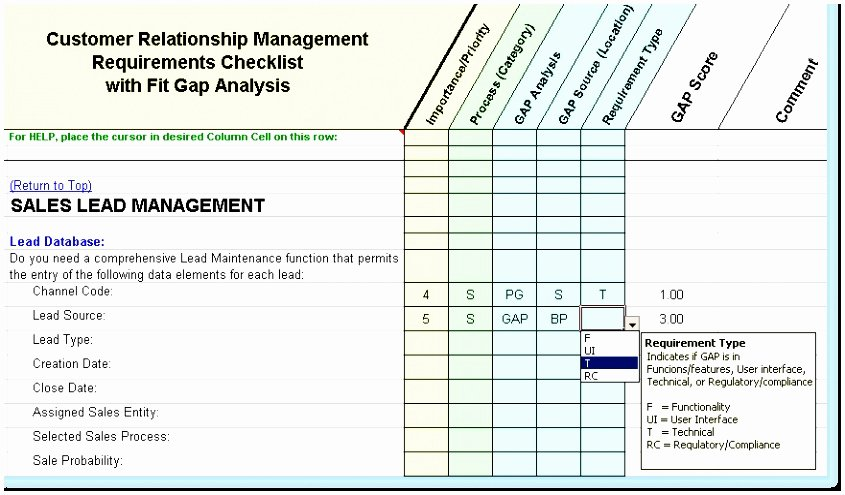 10 Data Gap Analysis Template Tuwuy