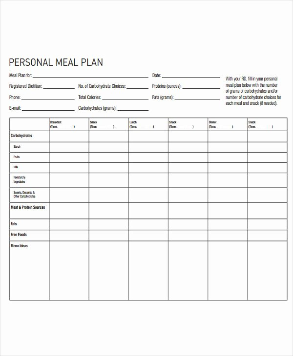 t plan template