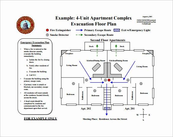 10 Evacuation Plan Templates Google Docs Ms Word