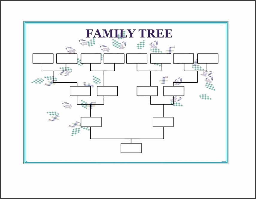 10 Family Tree Word Template Sampletemplatess
