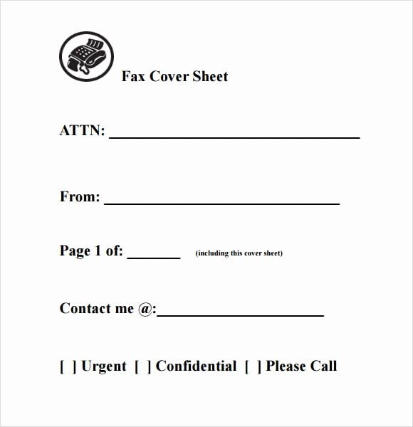 10 Fax Cover Sheet Templates Word Excel Pdf formats