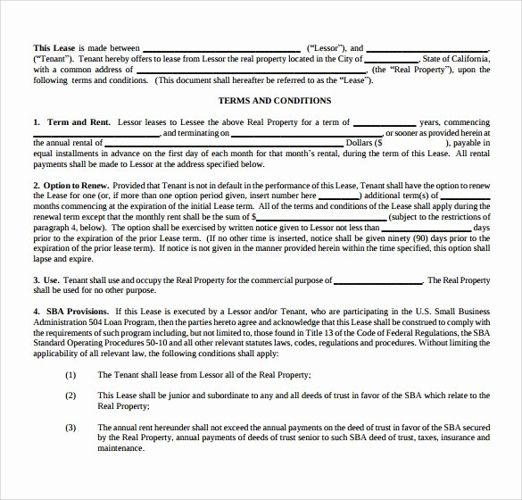10 Fice Lease Agreement Templates