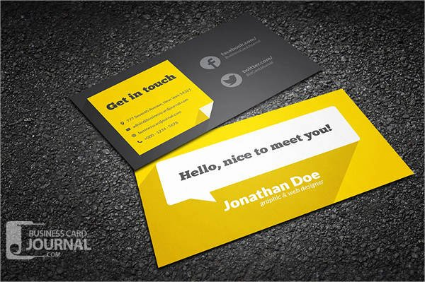 10 Free Business Card Templates Free Psd Vector Ai
