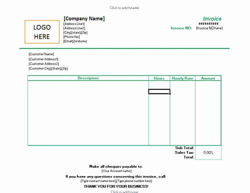 10 Free Freelance Invoice Templates [word Excel]