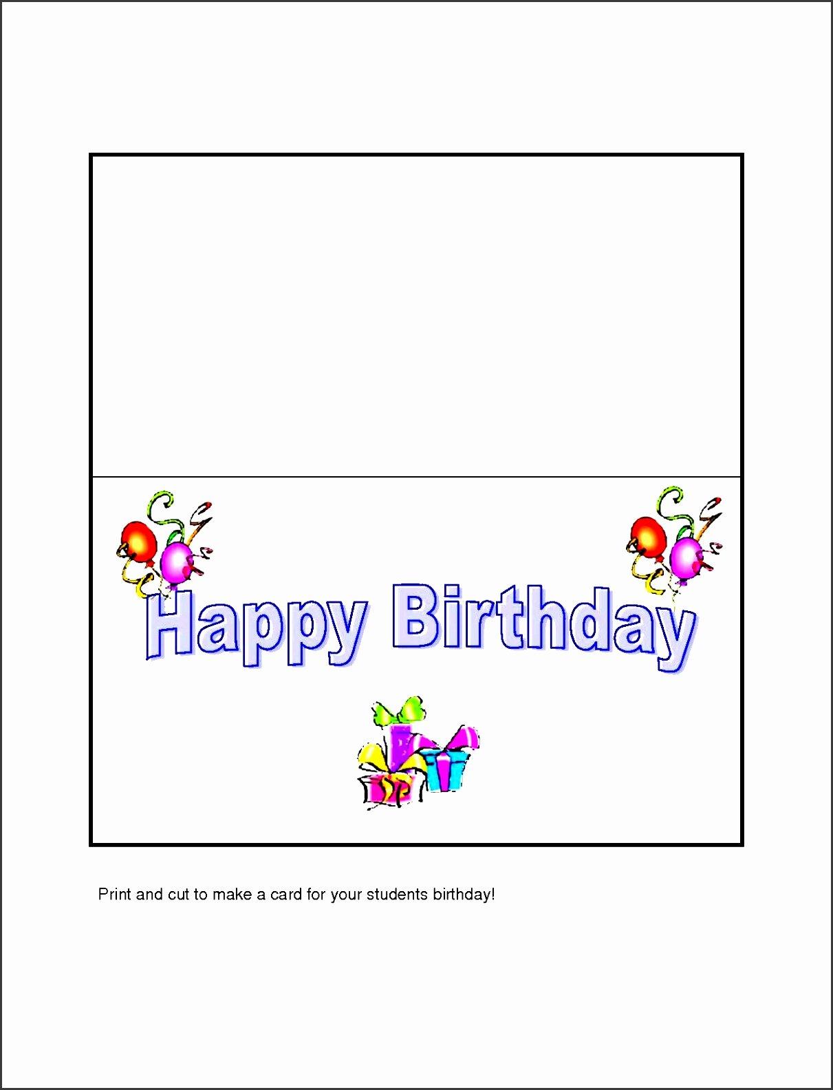 10 Free Microsoft Word Greeting Card Templates
