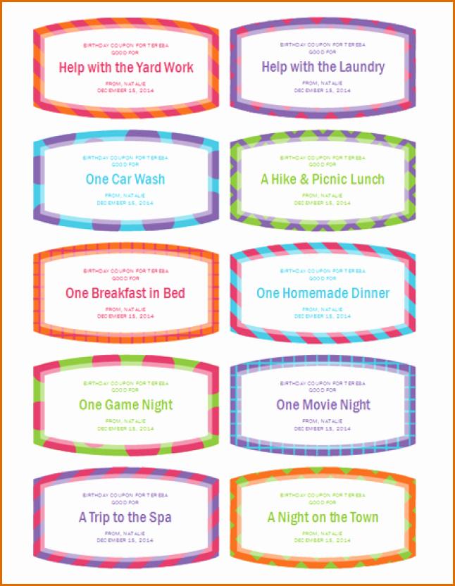 10 Free Printable Coupon Templates