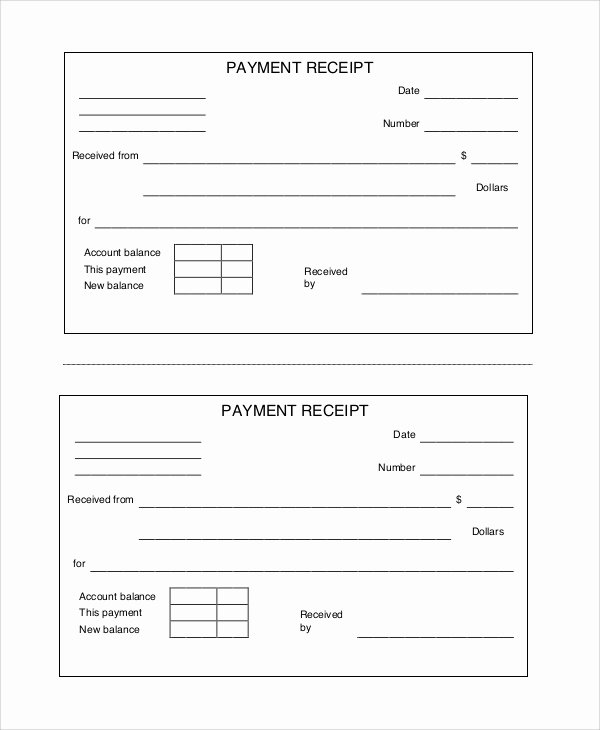 10 Free Printable Receipts