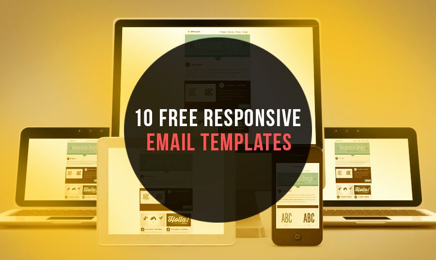 10 Free Responsive Email Newsletter Templates