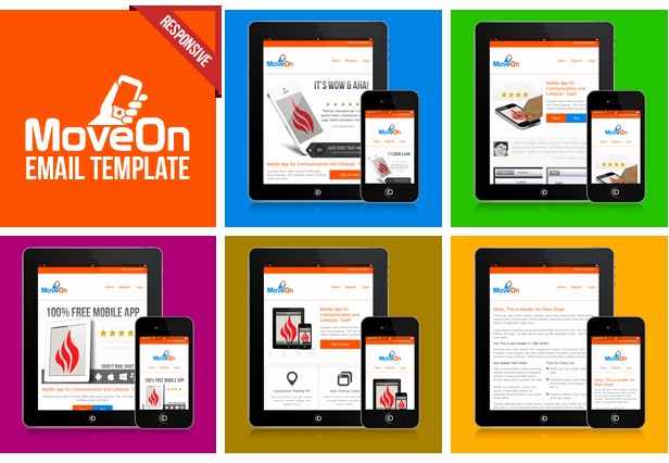 10 Free Responsive HTML Email Templates Designssave