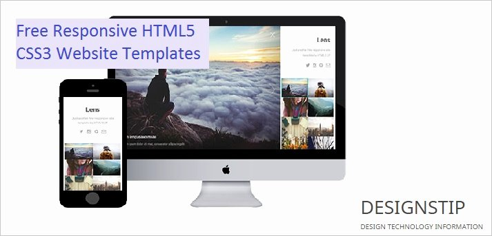10 Free Responsive HTML5 Css3 Website Templates