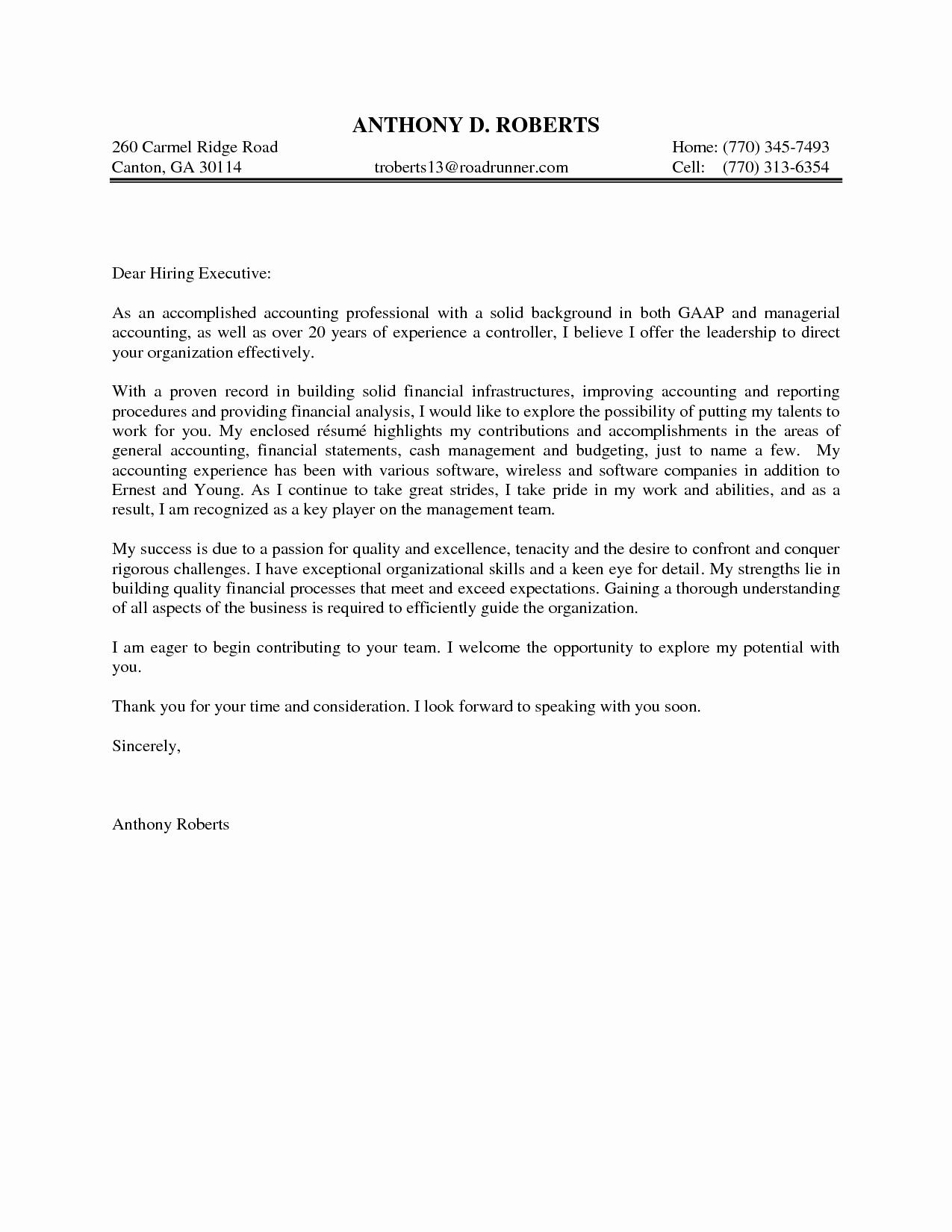 10 General Cover Letter Sample Samplebusinessresume