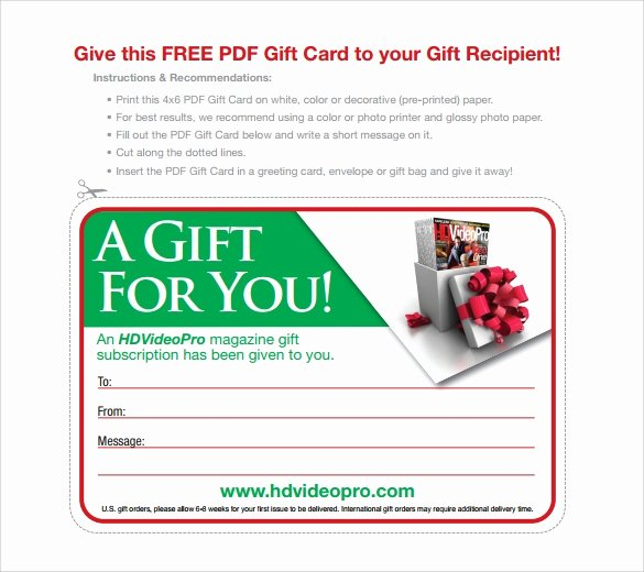 10 Gift Card Envelope Samples