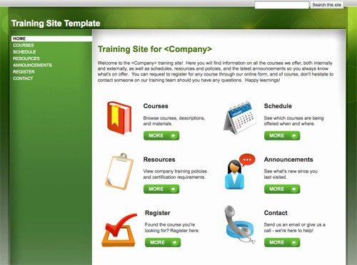 10 Handy Web Templates From Google Sites