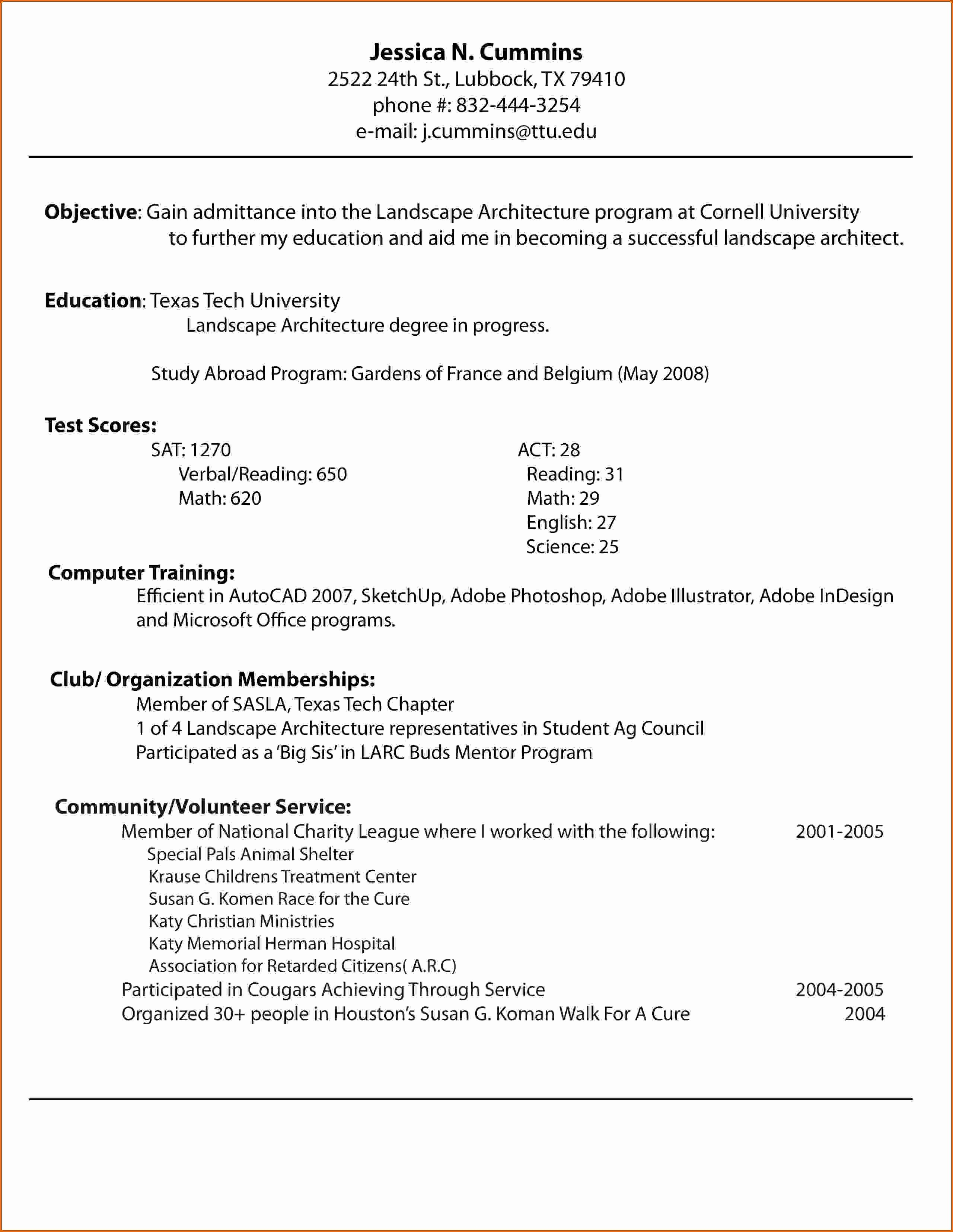 10 How to Make A Resume for Job