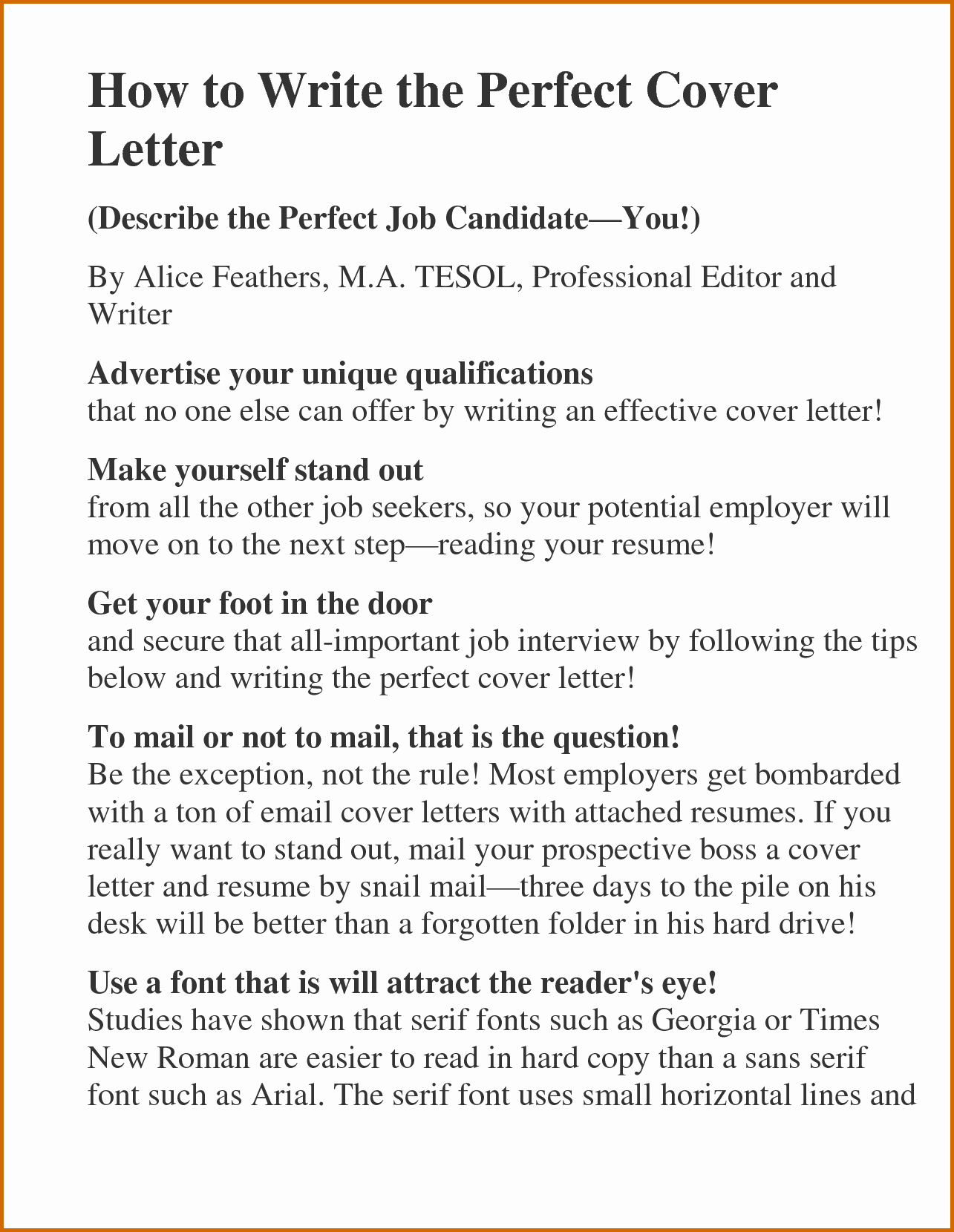 10 How to Make An Impressive Resume