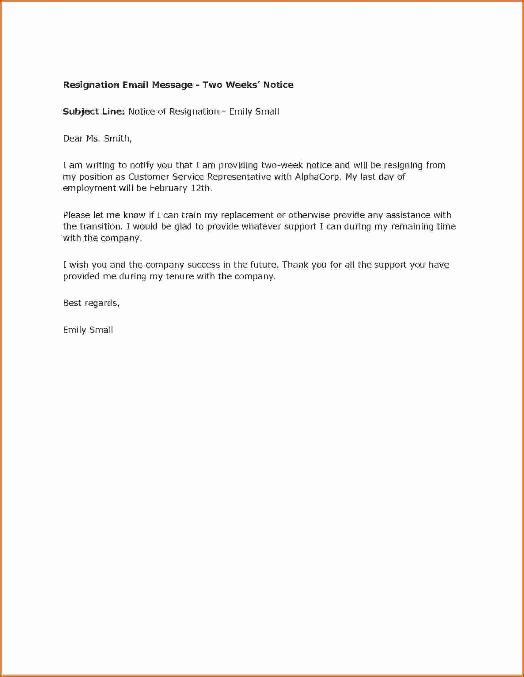 10 How to Write A Notice Letter Example