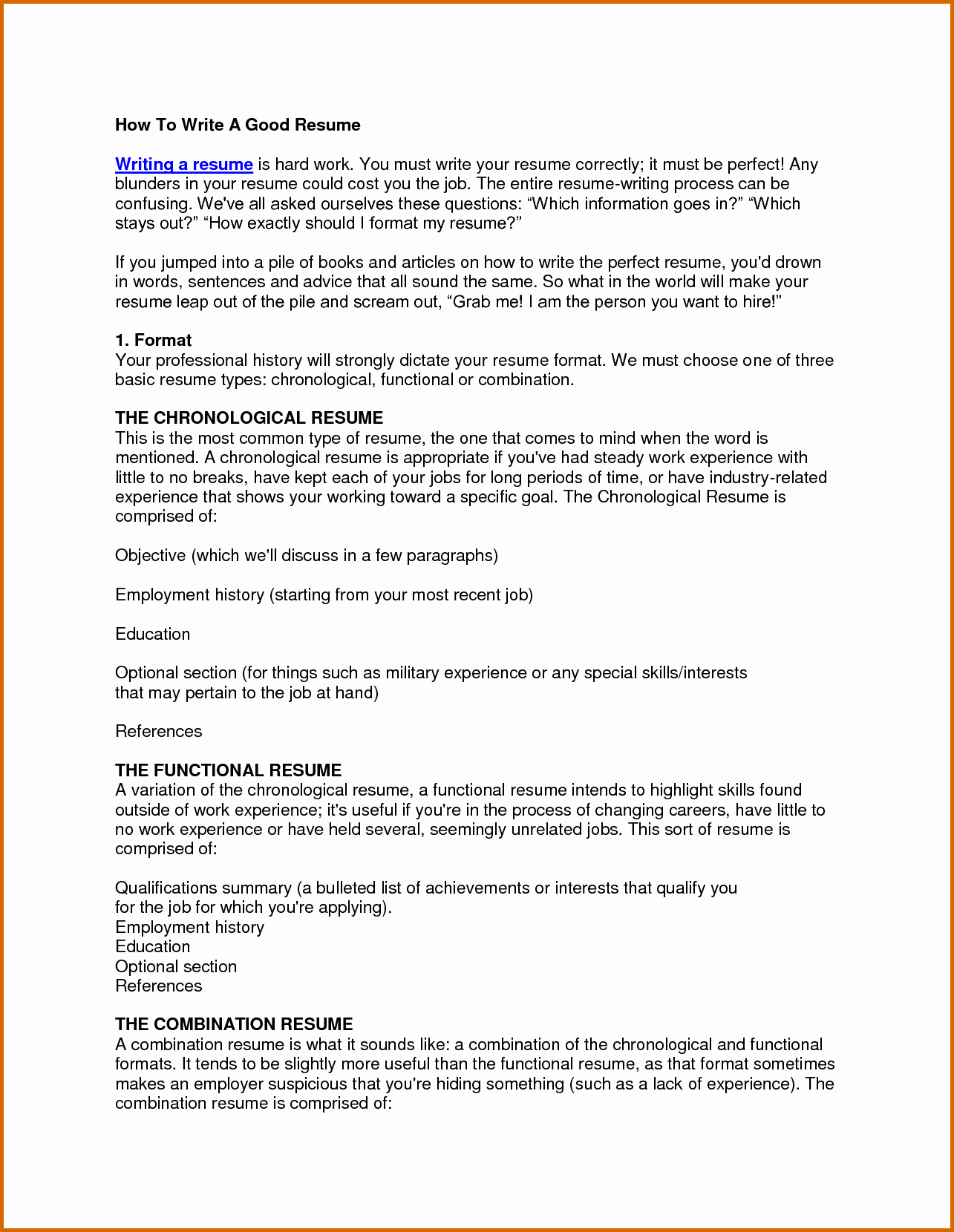 10 How to Write Cosmetology Resume