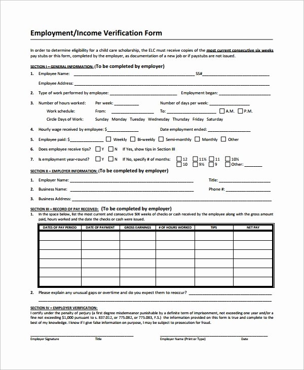 10 In E Verification forms