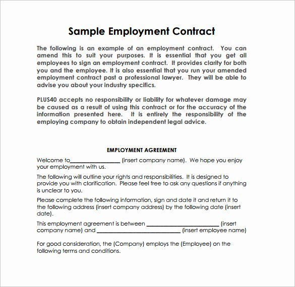 10 Job Contract Templates to Download for Free