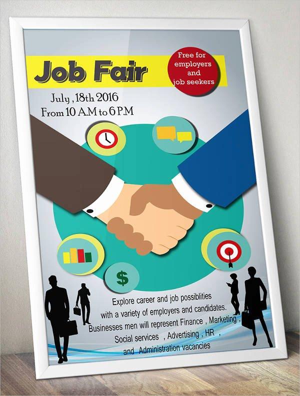 10 Job Fair Flyer Templates Psd Eps Vector Pdf