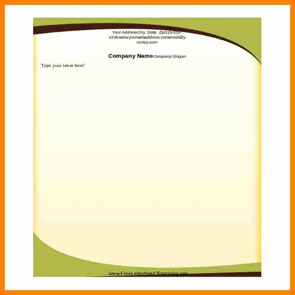 10 Letterhead Templates Word 2010