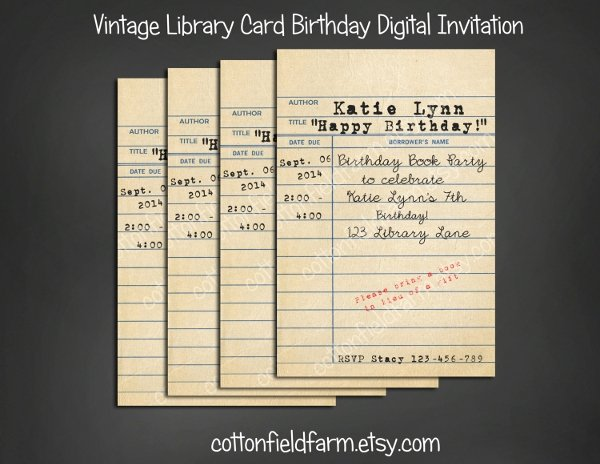 10 Library Cards