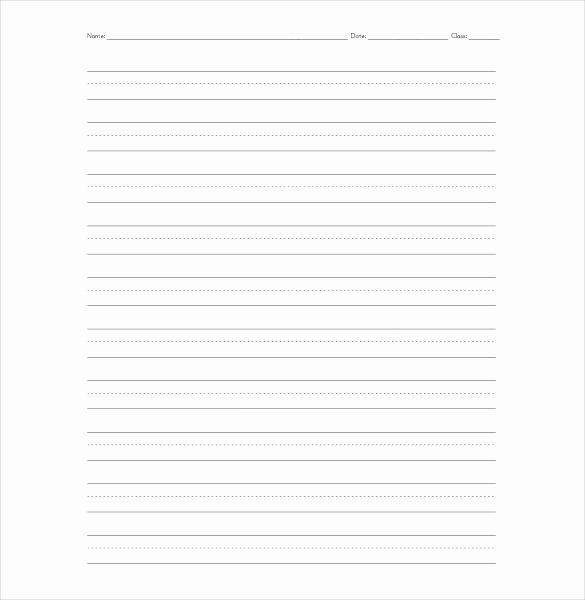 10 Lined Paper Templates Doc Pdf Excel
