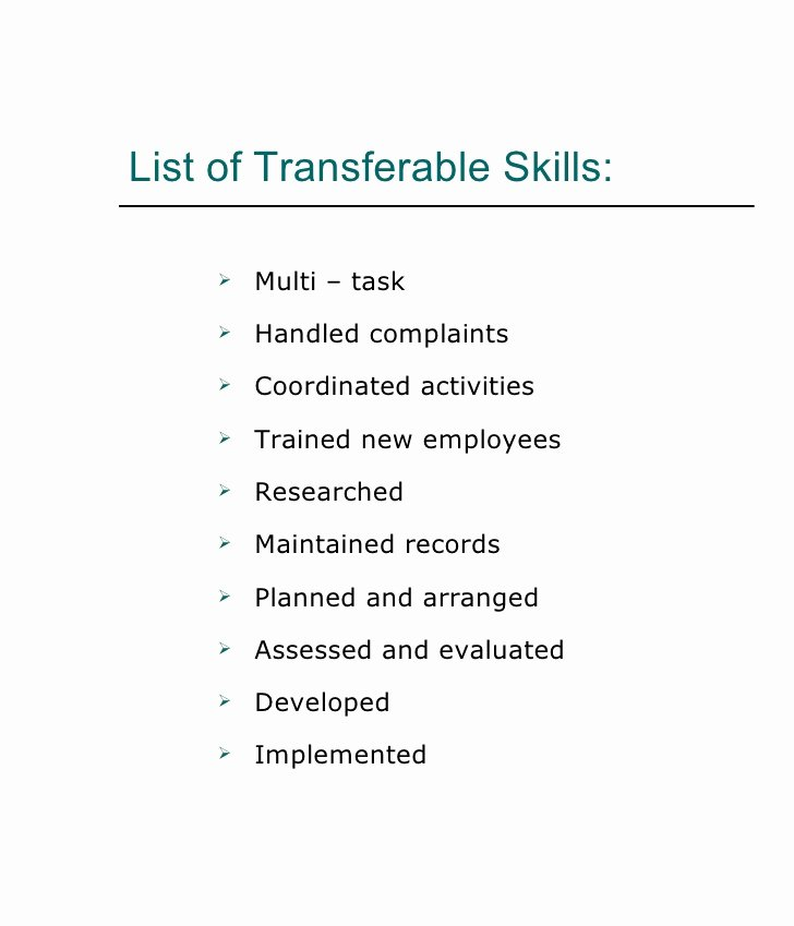 10 List Skills for Resume Samplebusinessresume