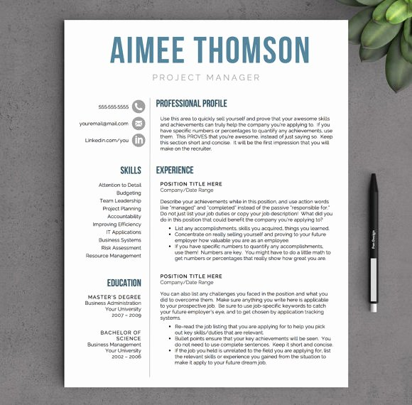 10 Modern Resume Templates – Samples Examples & format