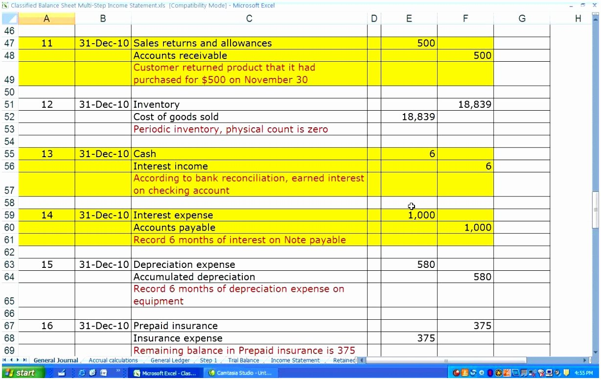 10 Multi Step In E Statement Template Excel Iilaa