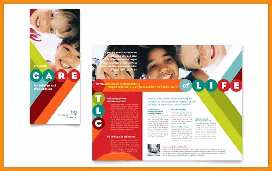 10 Pamphlet Template Word