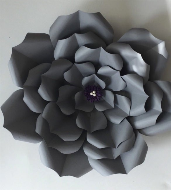 10 Paper Flower Templates – Free Sample Example format