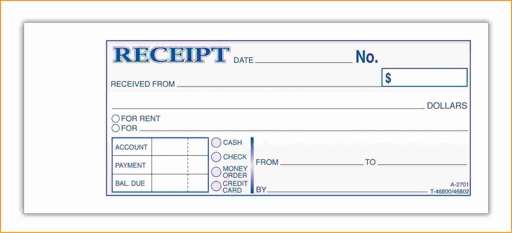 10 Payment Receipt Template