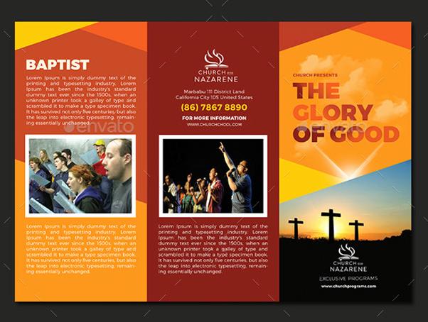 10 popular church brochure templates design free psd jpeg eps