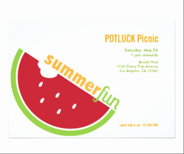potluck email invitation templates