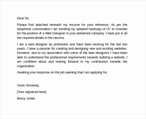 10 Professional Cover Letter Template Examples to Download