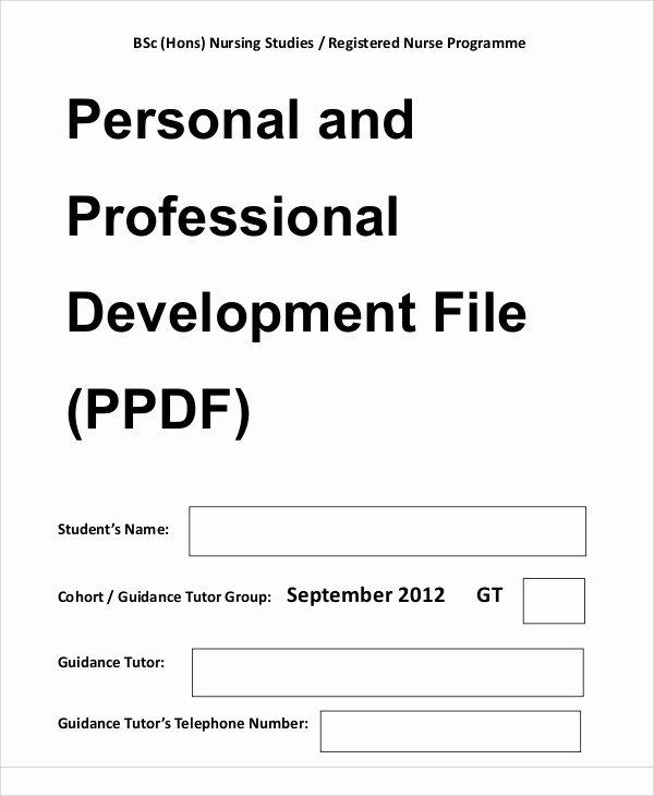 10 Professional Development Plan Samples