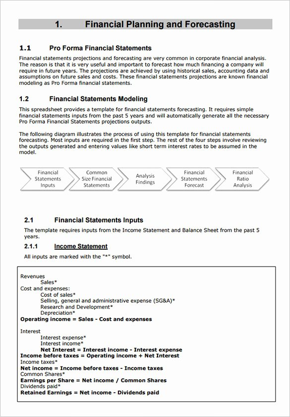 10 Proforma In E Statement Templates to Download