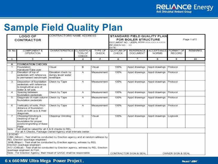 10 Quality Management Plan Examples Pdf