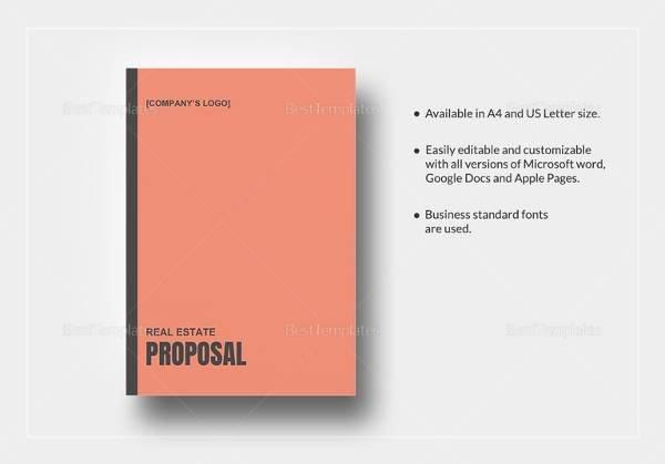 10 Real Estate Proposal Templates