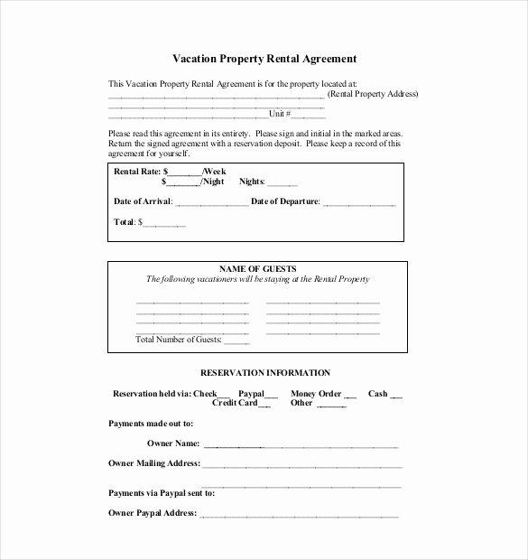 10 Rental Agreement Templates