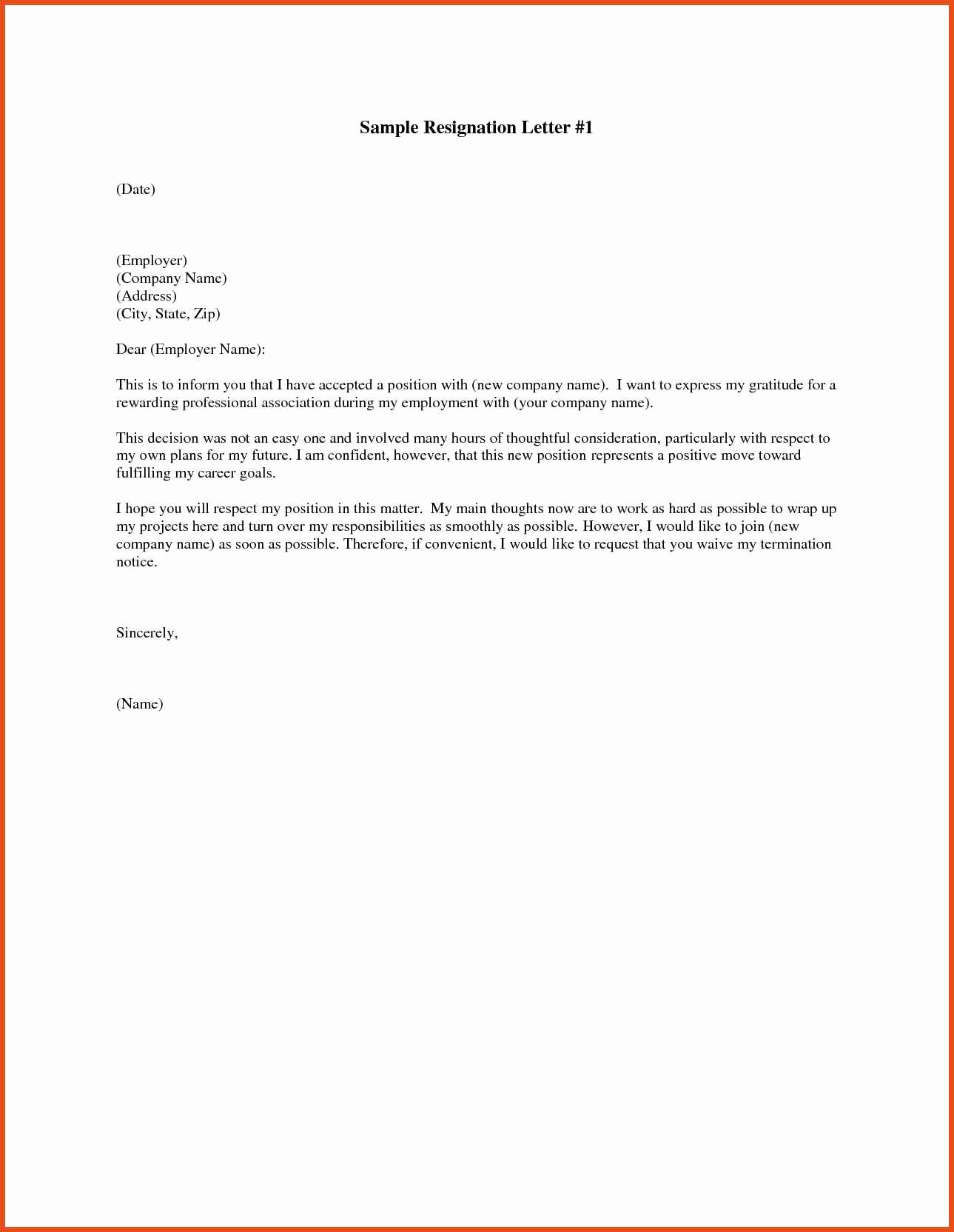 10 Resignation Letter Email Subject