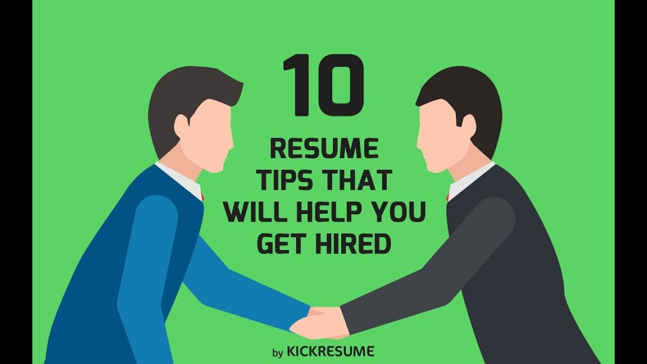 10 Resume Tips that Will Help You Get Hired