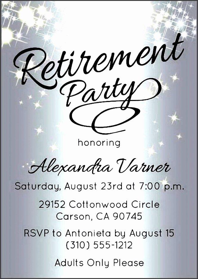 10 Retirement Party Invitation Template Sampletemplatess