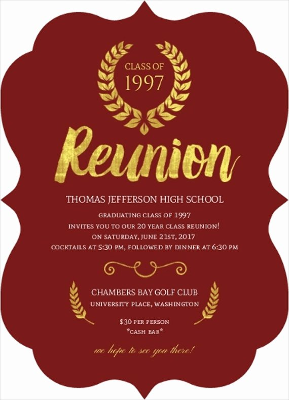 10 Reunion Invitation Templates Psd Ai Vector Eps