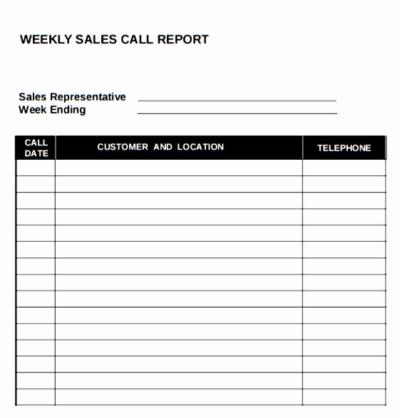10 Sales Call Planning Template Tiury