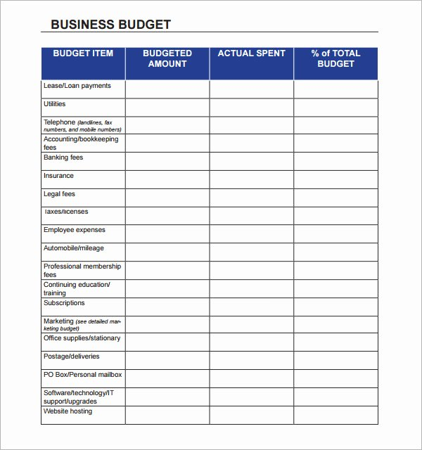 10 Sample Business Bud Templates