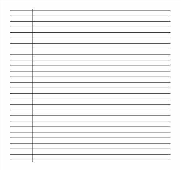 10 Sample College Ruled Paper Templates