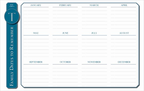 10 Sample event Calendar Templates to Download