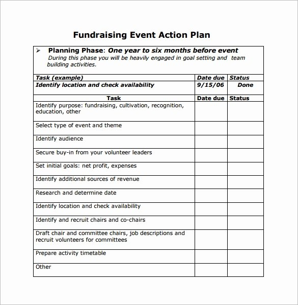 10 Sample event Planning Templates – Pdf Ppt Doc